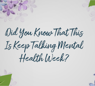 It's #KeepTalkingMH Week!
